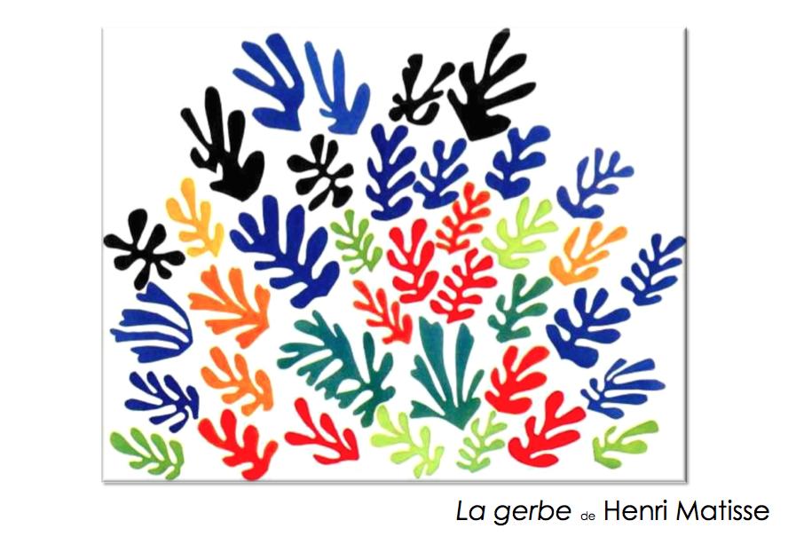 Matisse la gerbe le jardin d 39 alysse - Le jardin d alysse grammaire ...
