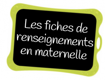 Fiches de renseignements et urgence maternelle le jardin d 39 alysse - Le jardin d alysse grammaire ...