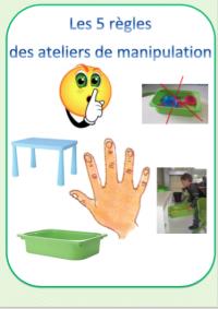 Affichage des r gles des ateliers de manipulations le jardin d 39 alysse - Le jardin d alysse grammaire ...