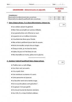Grammaire CE2 Archives - Le jardin d'Alysse